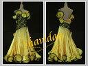 【NEWデザイン】社交ダンス・社交ダンスドレス競技用ドレス ダンス衣装ステージ衣装・ドレスデモ衣装 デモドレス・カラオケ・舞台・…