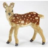 使用Bambi 40cm【】澳大利亚出生的品牌HANSA(hansa)安全质量良好的毛皮,真货一模一样的鹿的绒毛玩具[バンビ 40cm【】オーストラリア生まれのブランドHANSA(ハンサ)の安全で良質なファーを使用した、本物そっくり