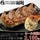 ≪本州限定送料無料≫王さんの手包みジャンボ餃子30個(ぎょう...