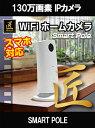 【防犯カメラ・監視カメラ】WiFiホームカメラ(匠ブランド)『Smart Pole』(スマートポール)【WiFiカメラ】【Android のみ対応】