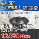 室内用220万画素HD-SDI/EXSDI/CVI対応 赤外...