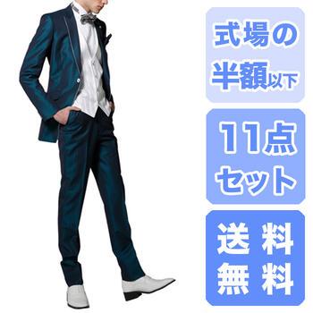 タキシードレンタル【フルサイズ取り揃えY2~K...の紹介画像2
