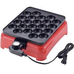 電気たこ焼き器(着脱プレート式)タコ焼き器たこ焼き機ホットプレートアヒージョ電気たこ焼き温度調節機能付き