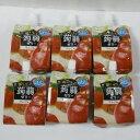【数量限定、賞味6/13のため、アウトレット!!】【ケース販売品】たらみおいしい蒟蒻ゼリー りんご味 150gx6袋果汁12%43kcal