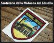 ショッピングイタリア 【数量限定】ITALY 自転車用 お守り シール ステッカー「サイクリストの聖地」イタリア『サンタ・マドンナ・デル・ギッサロ教会』Santuario Madonna del Ghisallo 正規品 ロードバイク クロスバイク等の御守りステッカー 大切な人へ!!