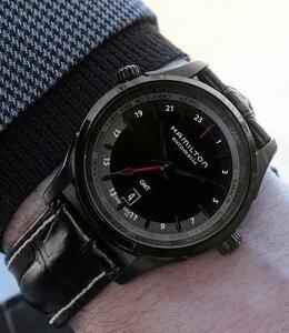 世界限定999本モデル【即納/新品特価】ハミルトン(HAMILTON)【H32685731】ジャズマスターGMTAUTOJazzmasterLIMITEDEDITION自動巻きメンズ腕時計ビジネス時計正規並行輸入品