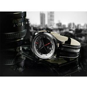 世界限定999本モデル【2年間正規保証付き】ハミルトンHAMILTON【H32685731】ジャズマスターGMTAUTOJazzmasterLIMITEDEDITION自動巻きメンズ腕時計ビジネス時計正規並行輸入品ブラックPVD黒スイスメイド