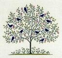 フレメ クロスステッチ 刺繍キット 【青い鳥 】 大きい作品 デンマーク 輸入ししゅうキット 30-5334