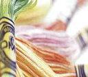 DMC (茶/青/緑/黄系) 4000番〜4072番 カラーバリエーション糸 25番 刺繍糸 クロスステッチ 糸 刺しゅう 刺繍糸 dmc