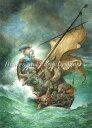 Heaven And Earth Designs クロスステッチ刺繍図案 HAED 輸入 上級者 Omar Rayyan 嵐の中のお茶 Tea In Tempest 全面刺し