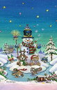 Heaven And Earth Designs クロスステッチ刺繍図案 HAED 輸入 上級者 Gary Patterson ハッピー・ホリデー Happy Holidays 全面刺し
