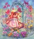 クロスステッチ図案 チャート HAED 手芸 上級者 【バターカップ・バニーズ・ガーデン】 Mini Buttercup Bunnys Garden
