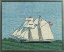 【DM便対応】フレメ Skonnert スクーナー帆船 10B キット Haandarbejdets Fremme クロスステッチ デンマー...
