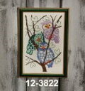 ペルミン(Permin)クロスステッチ刺繍キット 3 ugler 3羽の梟 Permin of Copenhagen 北欧 デンマーク 上級者 12-3822