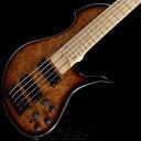 "Bacchus 《バッカス》 GLOBAL Series IKEBE ORIGINAL SCB5-CUSTOM ""Burl Maple"" [Single Cut 5-strings Bass]"