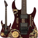 LTD Signature Series KIRK HAMMETT Model KH SPARKLE OUIJA (Red Sparkle w/Ouija Graphic) 【即納可能】