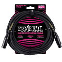 ERNIE BALL《アーニーボール》25' MALE / FEMALE XLR MICROPHONE CABLE