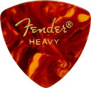 Fender 《フェンダー》 Classic Celluloid 346 Triangle Shape Pick×10枚セット【べっ甲/Heavy】