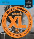 D'Addario 《ダダリオ》 Electric Guitar Strings ESXL110