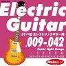 "Ikebe Original 《イケベオリジナル》Electric Guitar Strings ""イケベ弦 エレキギター用 009-042"" [Super Light Gauge/IKB-EGS-0942]"