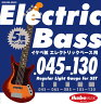 "Ikebe Original 《イケベオリジナル》Electric Bass Strings ""イケベ弦 5弦エレキベース用 045-130"" [Regular Light Gauge for 5ST/IKB-EBS-45130]"