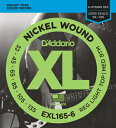 D'Addario 《ダダリオ》 XL Nickel Round Wound EXL165-6
