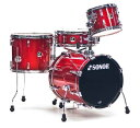 SONOR 《ソナー》 SSE12SAF:RGS [SAFARI:Red Glaxy Sparkle / 16BD・14FT・10TT・14SD]【お取り寄せ品】