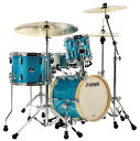 SONOR 《ソナー》 SSE13MARTINI:TQGS [MARTINI:Turquois Glaxy Sparkle / 14BD・13FT・8TT・12SD]※入荷待ち(次回2017年2月以降入荷予定)