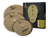 "Zildjian/L80 Low Volume �ԥ��른���� L80 LOW VOLUME 468 BOX SET [14"" HiHats��16"" Crash��18"" Crash Ride set / NAZLLV468]"