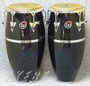 LP 《Latin Percussion》 LP522X-1BK+LP559X-1BK [Patato Model / Quinto&Conga Set]