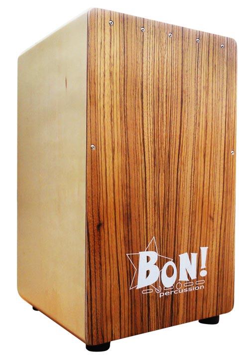 BON!《ボン!》 BCJ-01 Student Seriesカホン(ゼブラウッド)