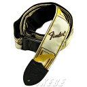 Fender 《フェンダー》 Monogrammed Strap White/Brown/Yellow(#0990683000)