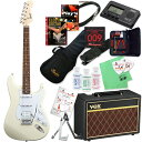 Squier by Fender 《スクワイヤーbyフェンダー》 Bullet Strat w/Tremolo HSS (Arctic White) 【ストラト...