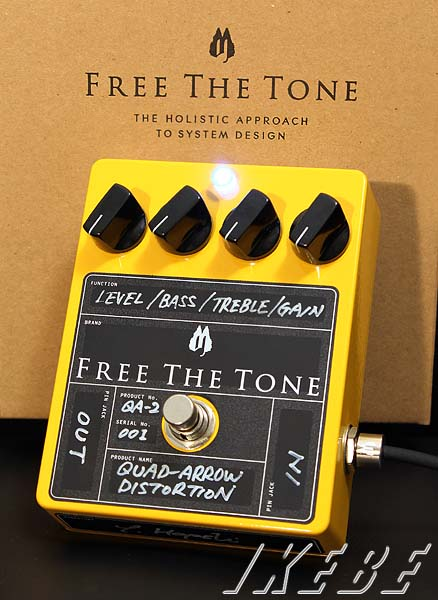 Free The Tone Quad Arrow Distortion