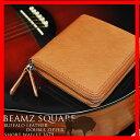 ラウンドファスナー 財布 メンズ 二つ折り 二つ折り財布 革 レザー 送料無料 ギフト プレゼント