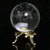 水晶玉 水晶丸玉 60mm 天然石 パワーストーン 溶練水晶 送料無料 ギフト プレゼント