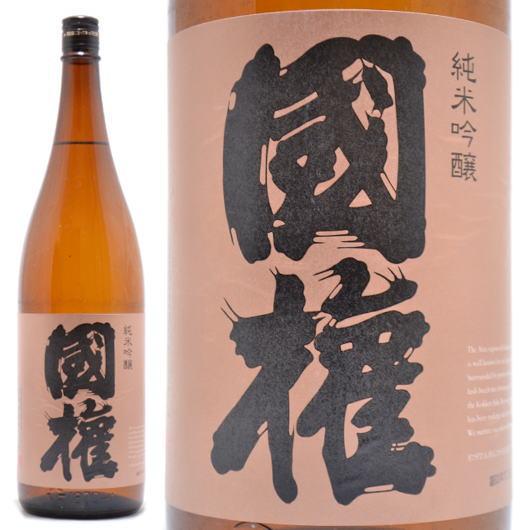 日本酒福島県南会津郡国権酒造国権(こっけん)純米吟醸銅ラベル1800ml