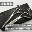 【QUOカード】日本のハサミ専門メーカー / 美容師専用 【PF】DEEDS GTZ シザー・セニング・専用ケース セット(5.5 6.0 6.25インチ) / 美容師 理容 理容師 散髪 はさみ シザー セニング
