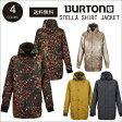【 15-16 2016 BURTON STELLA SHIRT JACKET 】 バートン スノーボードウェア レディース