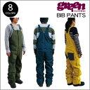 【 17-18 2018 GREEN CLOTHIG BIB PANTS 】グリーンクロージング ビブパンツ オーバーオール スノーボードウェア