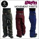 【 17-18 2018 GREEN CLOTHIG MOVEMENT PANTS 】グリーンクロージング ムーブメントパンツ スノーボードウェア