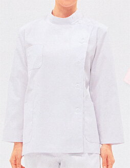 52-001 Casey ladies & 1 color long sleeve ( nurse doctor nurse care medical lab coats MONTBLANC MONTBLANC )