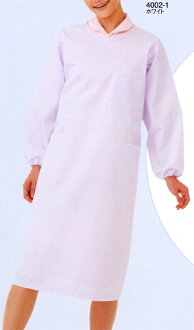 All 4002 prevention clothes two colors (FOLK フォークソワンクレエ nurse doctor nurse medical white robe)