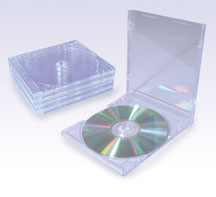 CD case 5 pieces Pack (clear)