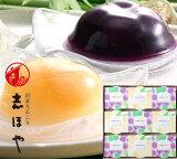 紫極白桃ゼリー(9個入)木箱入【お中元ギフト】