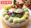 クリスマスデコレーションアイスケーキ【お歳暮ギフト】1台(15cm)【smtb-KD】