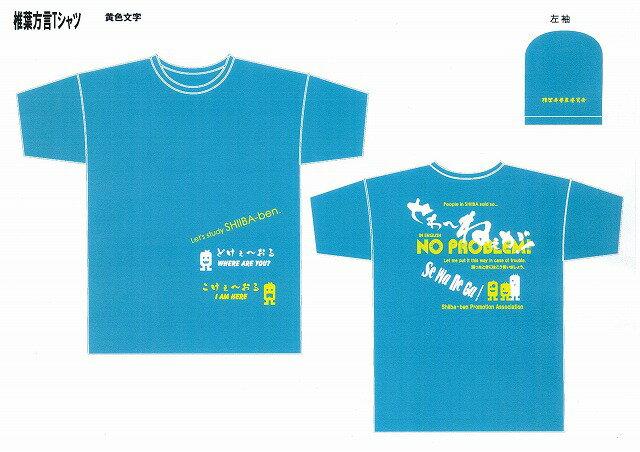 椎葉方言Tシャツ「せわねーが」(サイズ:XS〜3L・色:レッド,ターコイズブルー,ネイビー)