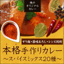 【送料無料!】【本格手作りカレー、レシピ付き】俺のオリジナル...