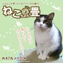 にゃんこが寄ってくる!?フシギな魅力 ねこちゃん畳 約47丸×1.2cm 猫用クッション・マット