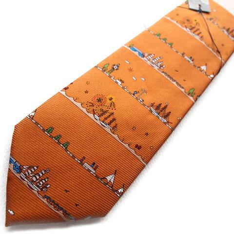 海王丸の船ネクタイ!船好きにはたまらないキャラクターネクタイです。海の貴婦人海王丸ネクタイ